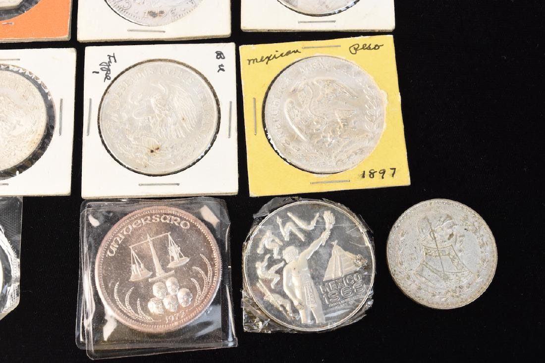 (24) Silver Coins From Around the World - 3