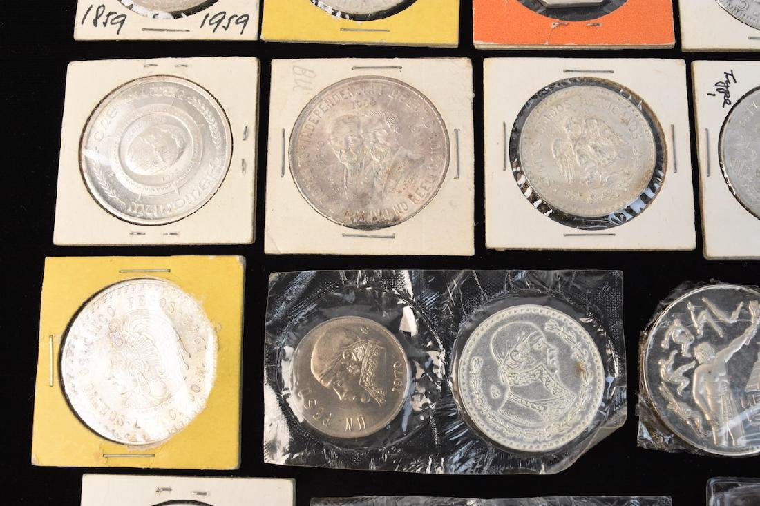 (24) Silver Coins From Around the World - 4