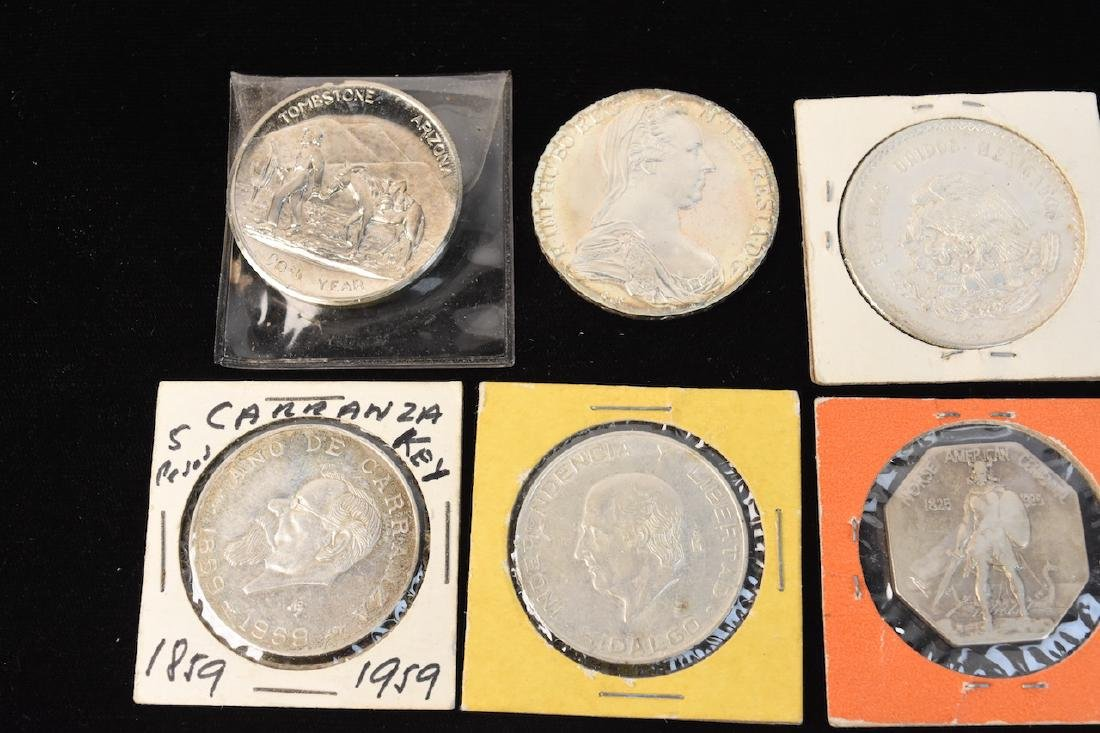 (24) Silver Coins From Around the World - 5