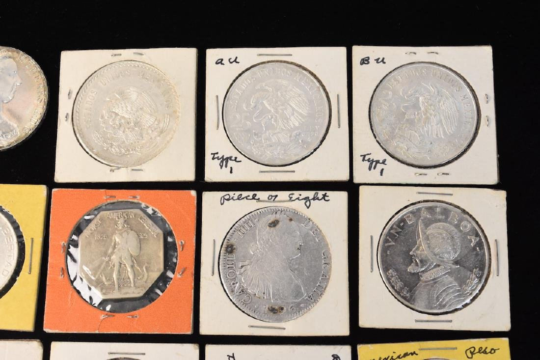 (24) Silver Coins From Around the World - 6