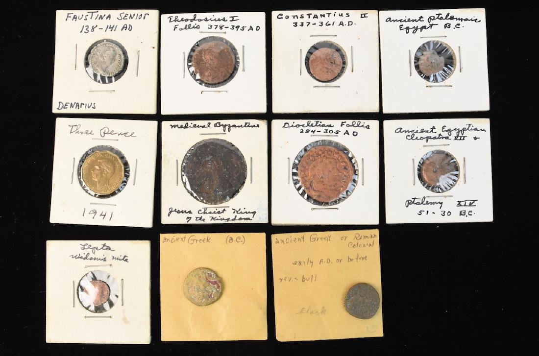 (11) Ancient Coins