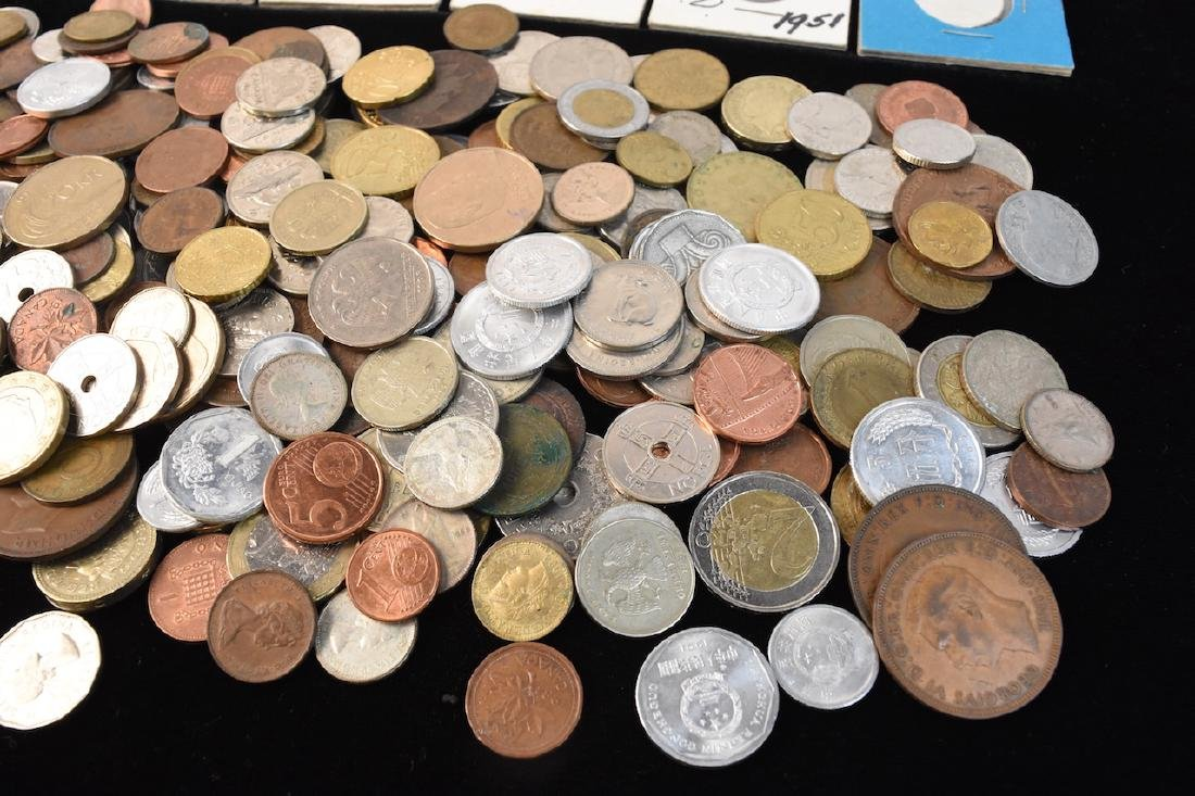 Foreign Coins & Currency Lot - 6