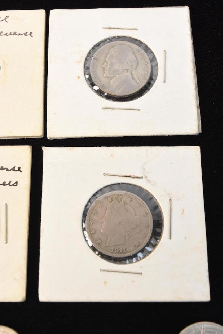 Large Lot of V-Nickels, Buffalo Nickels & Other - 4