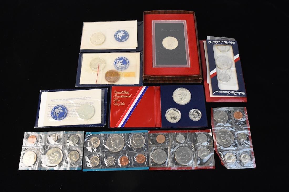 Ike Proof, Silver & Mint Dollars