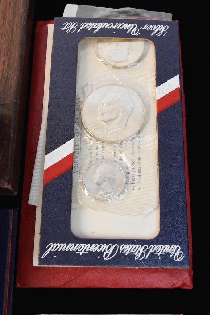 Ike Proof, Silver & Mint Dollars - 2