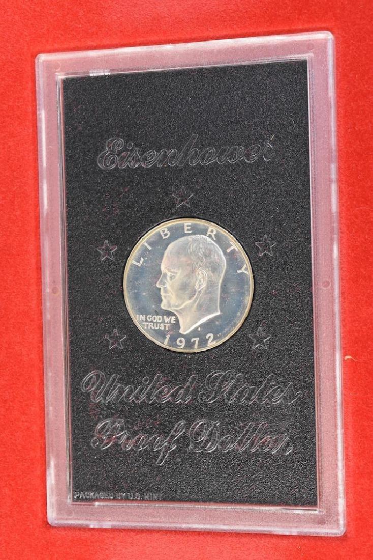 Ike Proof, Silver & Mint Dollars - 3