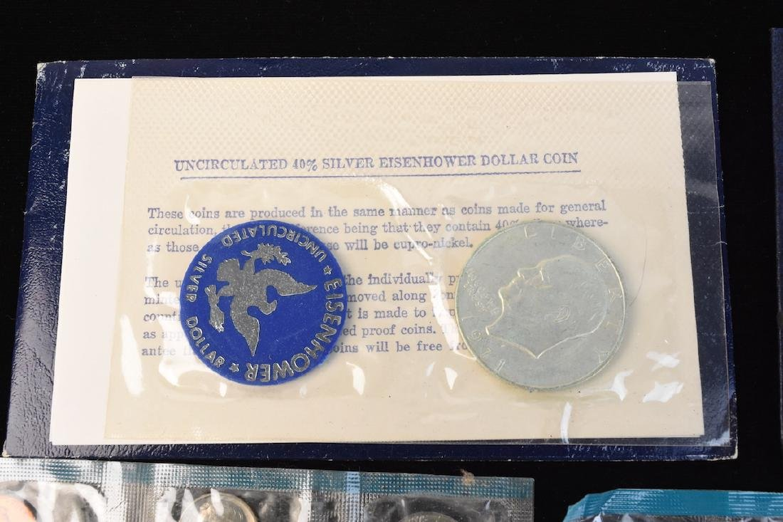 Ike Proof, Silver & Mint Dollars - 5