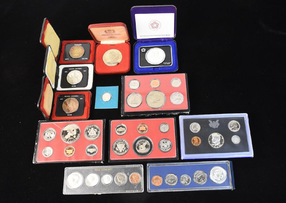 Proofs & Mint Coins, Canadian Mint Dollars & 1/2