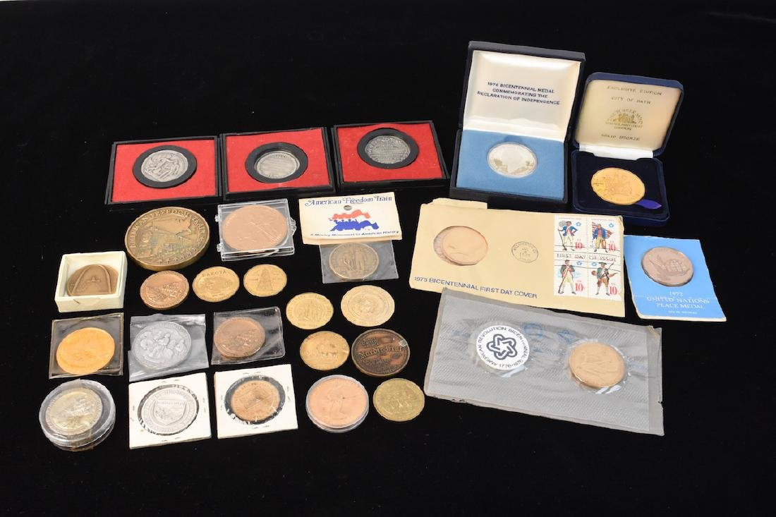 Huge Lot of Commemorative Coins & Tokens