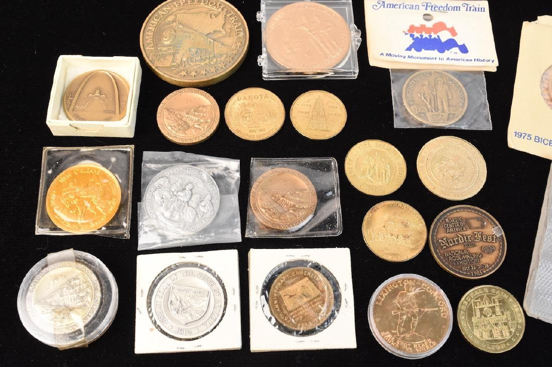 Huge Lot of Commemorative Coins & Tokens - 2