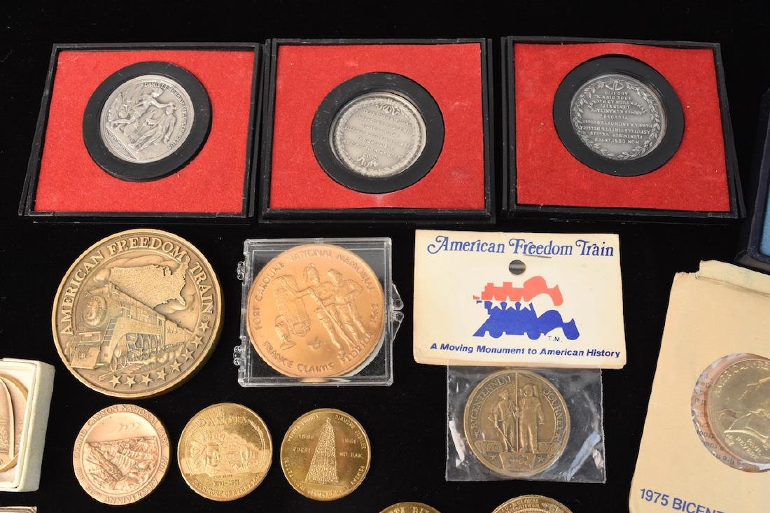 Huge Lot of Commemorative Coins & Tokens - 3