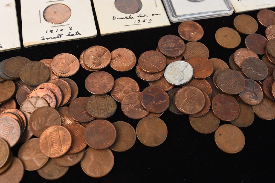 Indian, Wheat, Head Steal Pennies & Large Cents - 2