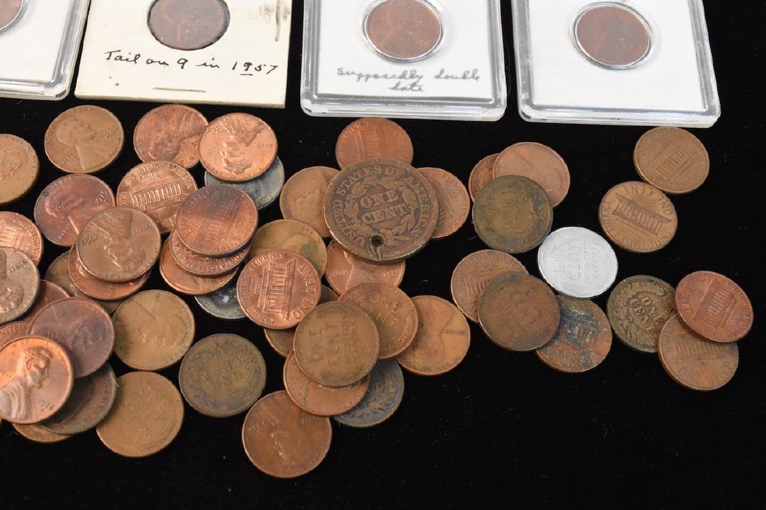 Indian, Wheat, Head Steal Pennies & Large Cents - 3