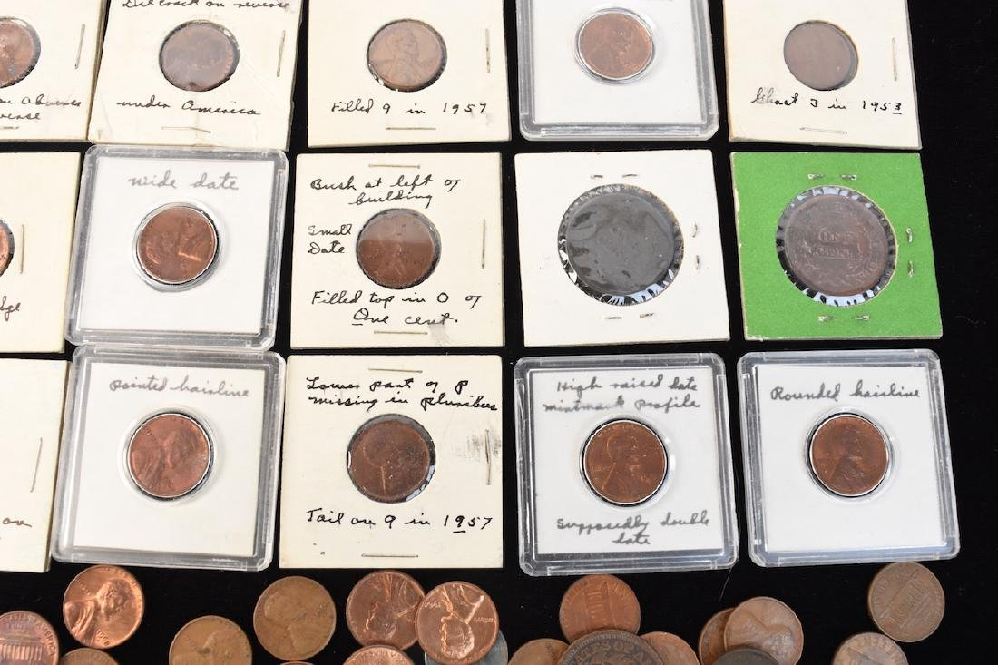 Indian, Wheat, Head Steal Pennies & Large Cents - 4