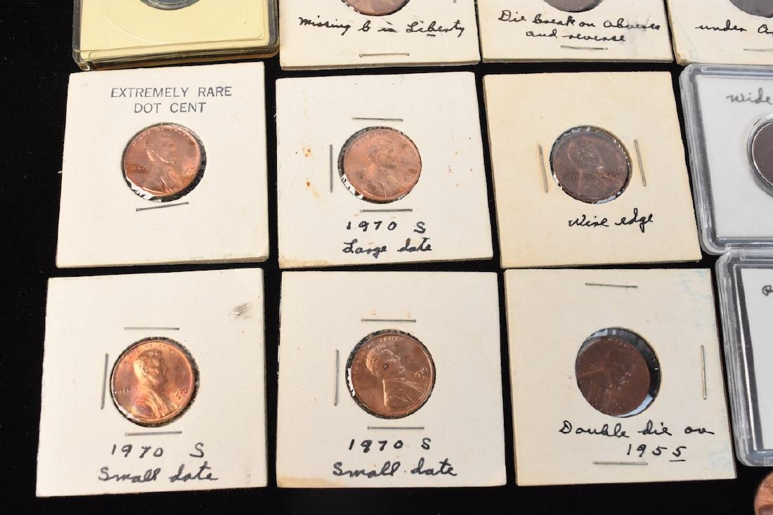 Indian, Wheat, Head Steal Pennies & Large Cents - 5