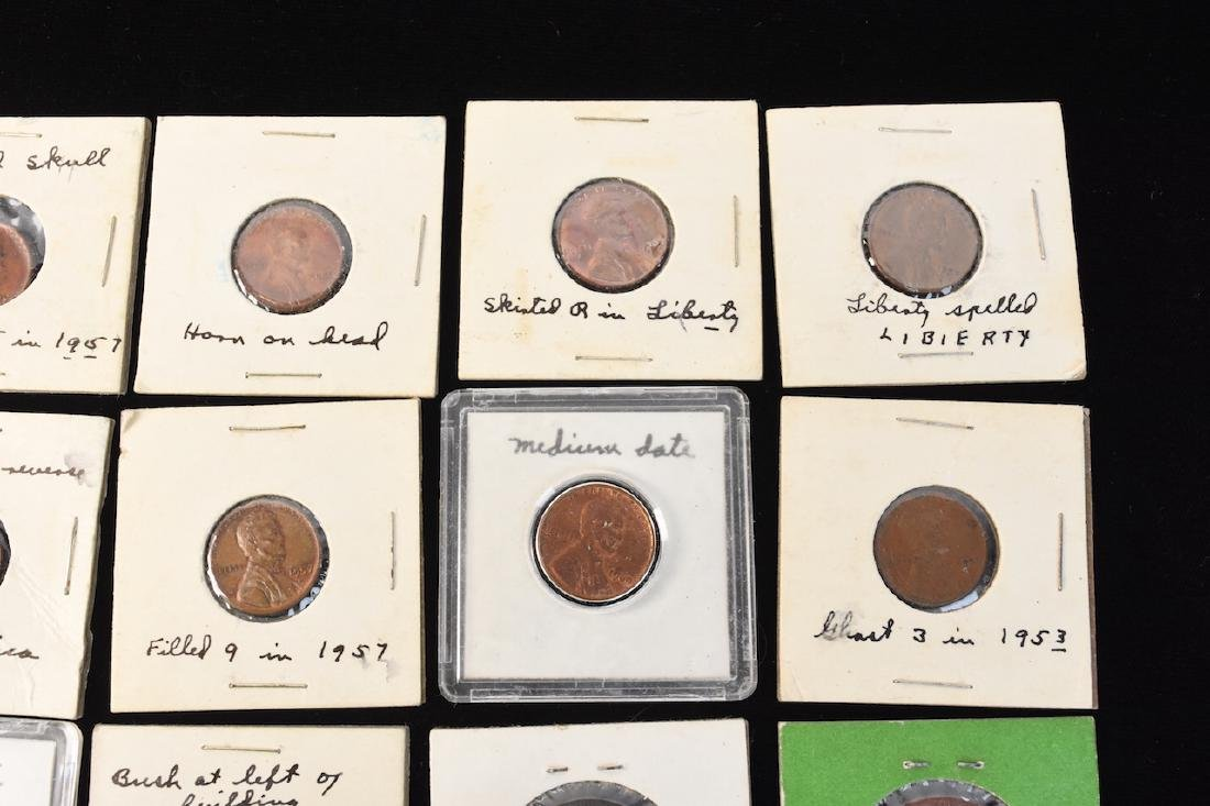 Indian, Wheat, Head Steal Pennies & Large Cents - 7