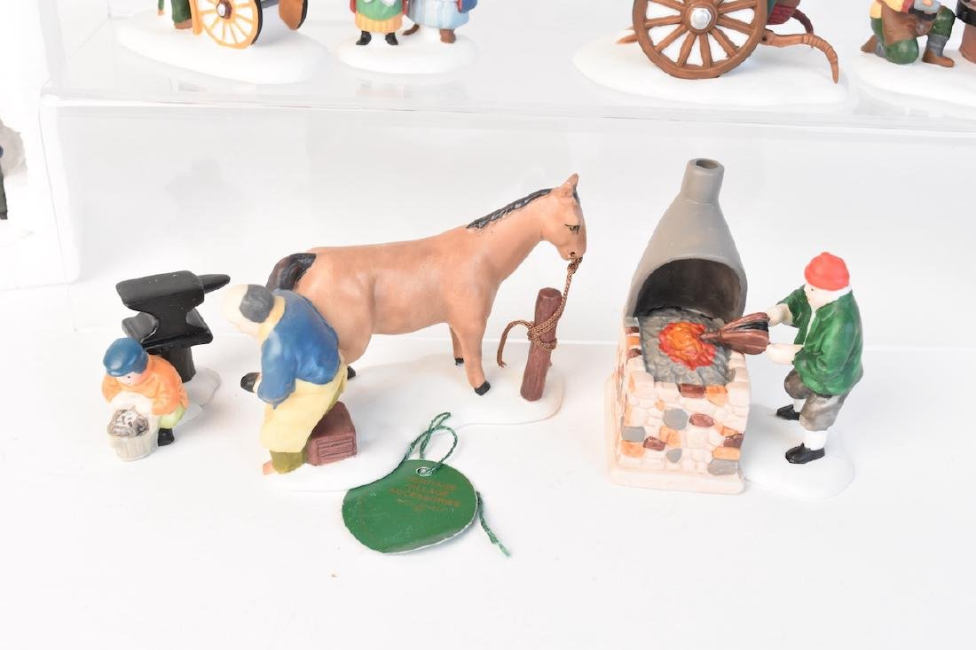 (12) Dept 56 Heritage Village Accessories - 3