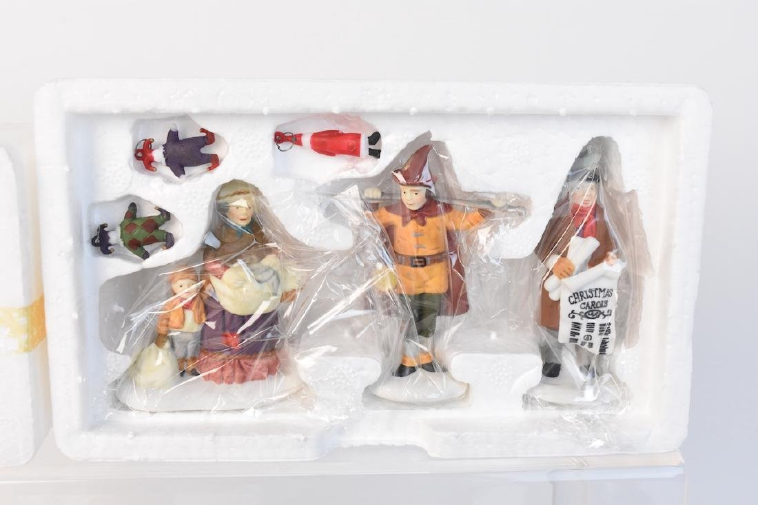 (12) Dept 56 Heritage Village Accessories - 5