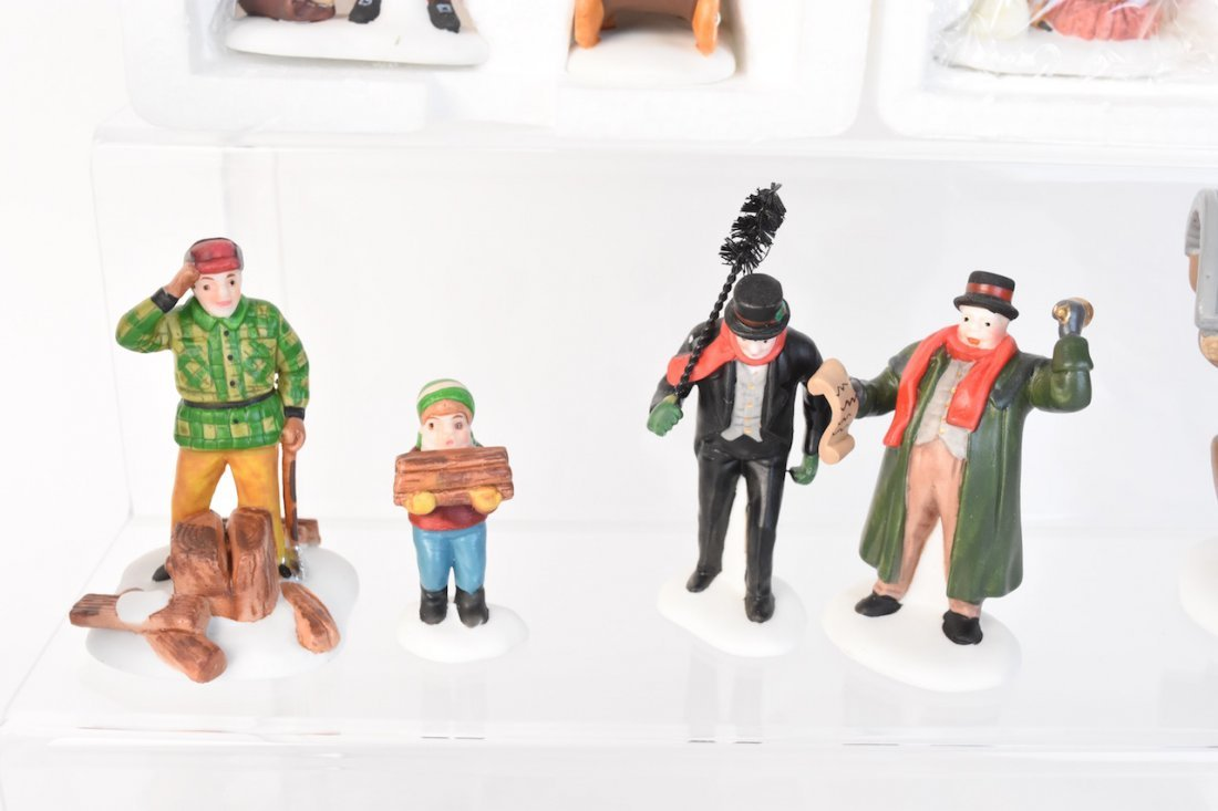 (12) Dept 56 Heritage Village Accessories - 6