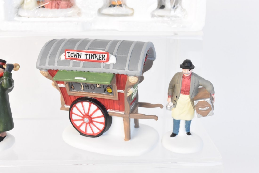 (12) Dept 56 Heritage Village Accessories - 7