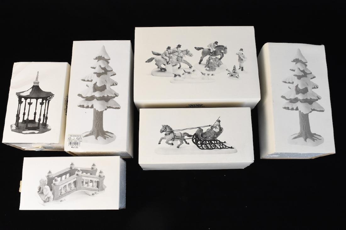 (6) Dept 56 Heritage Village Accessories - 2