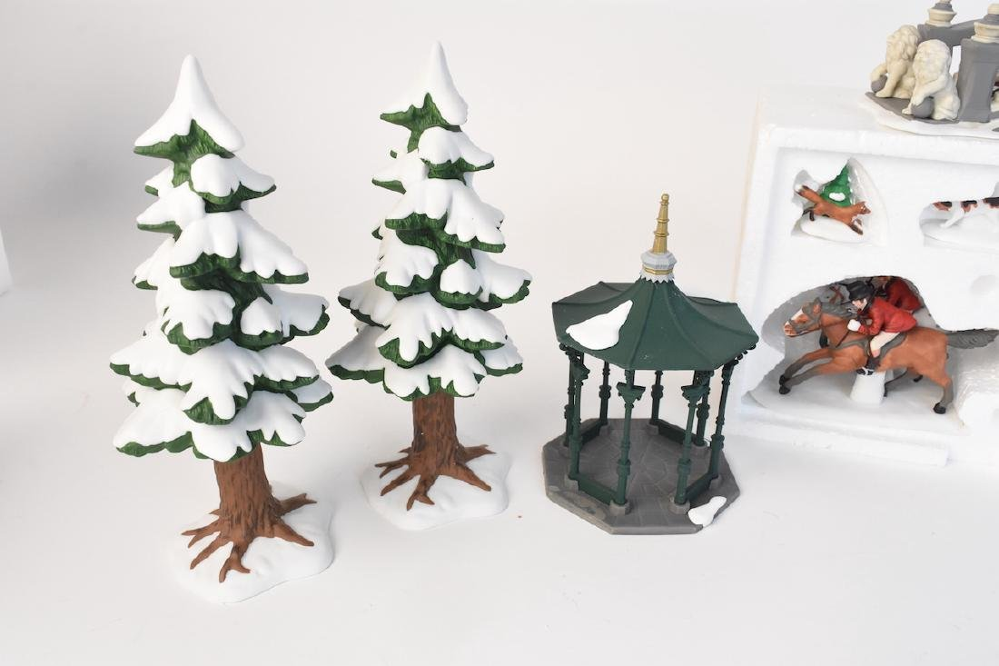 (6) Dept 56 Heritage Village Accessories - 5
