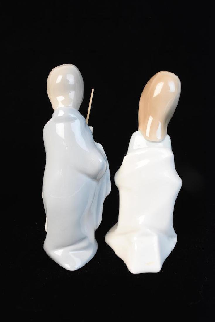 (10) Piece Lladro Porcelain Nativity Scene - 2