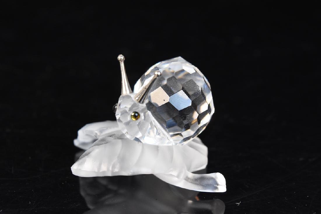 (5) Swarovski Crystal Figurines - 3