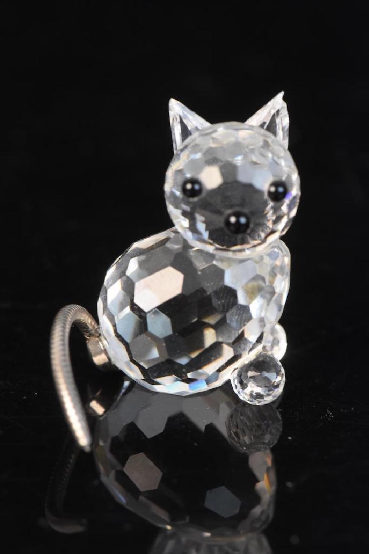 (5) Swarovski Crystal Figurines - 7