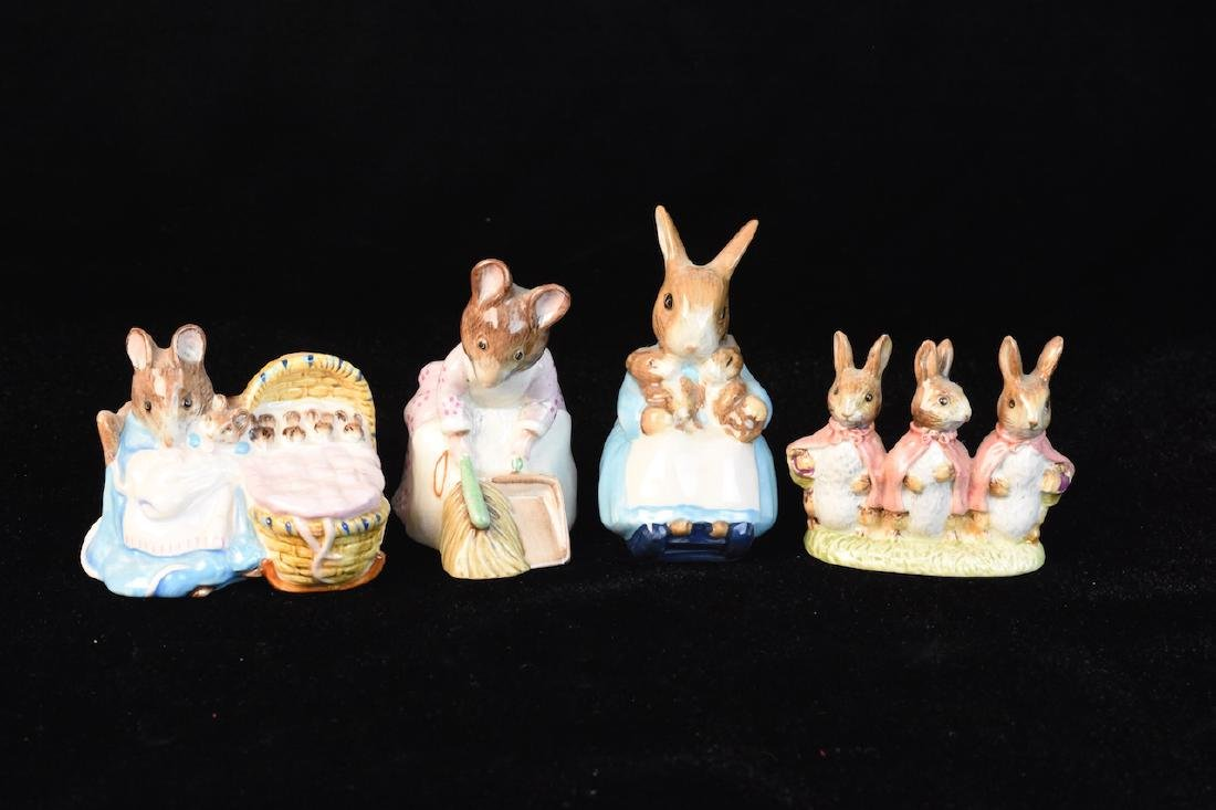 Beatrix Potter Figurines from Beswick England