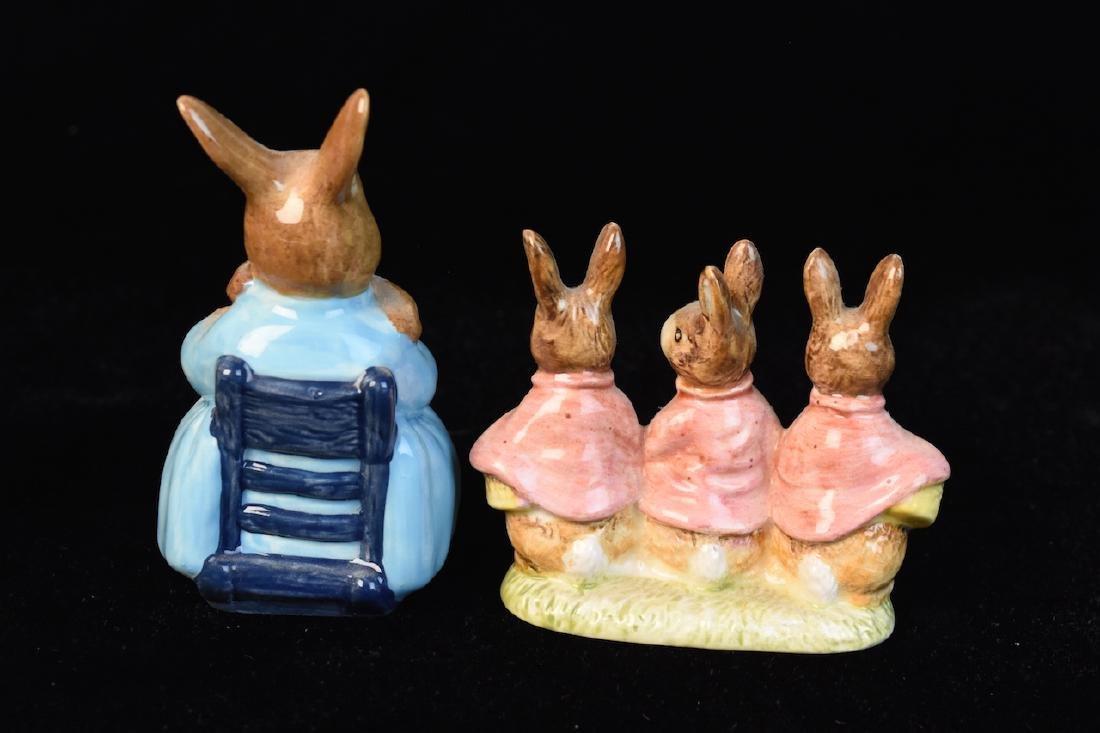 Beatrix Potter Figurines from Beswick England - 2