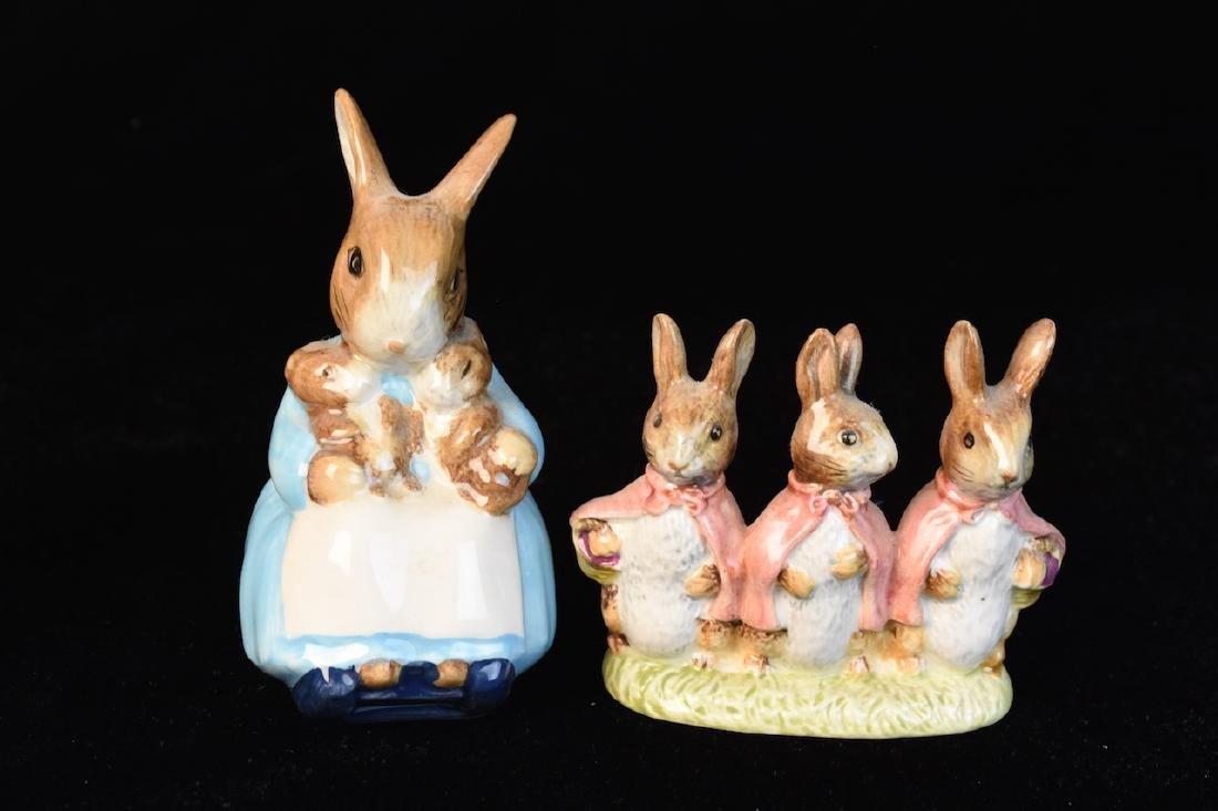 Beatrix Potter Figurines from Beswick England - 3