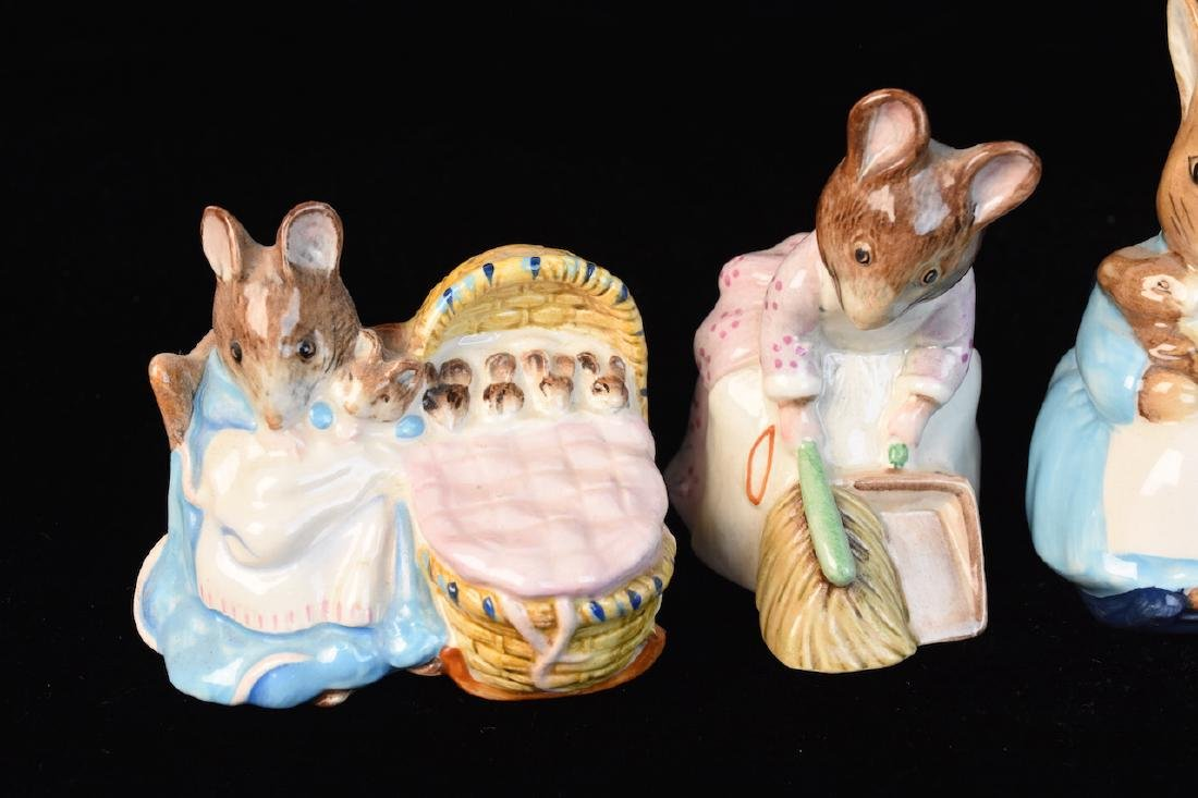 Beatrix Potter Figurines from Beswick England - 5
