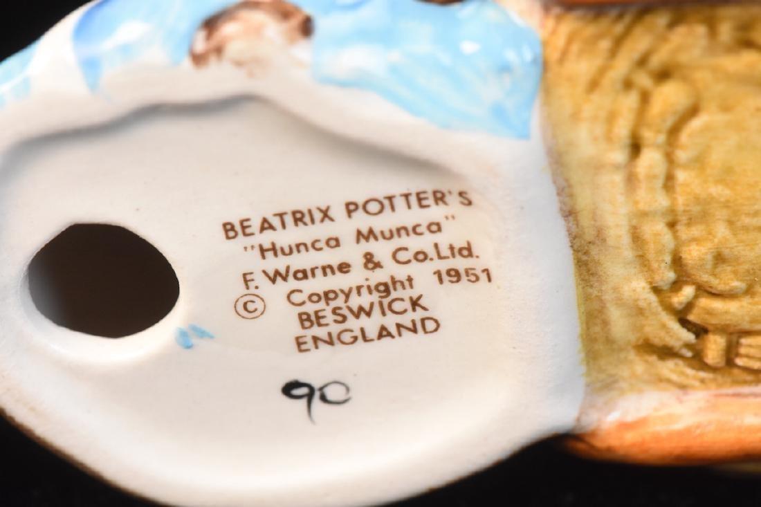 Beatrix Potter Figurines from Beswick England - 6