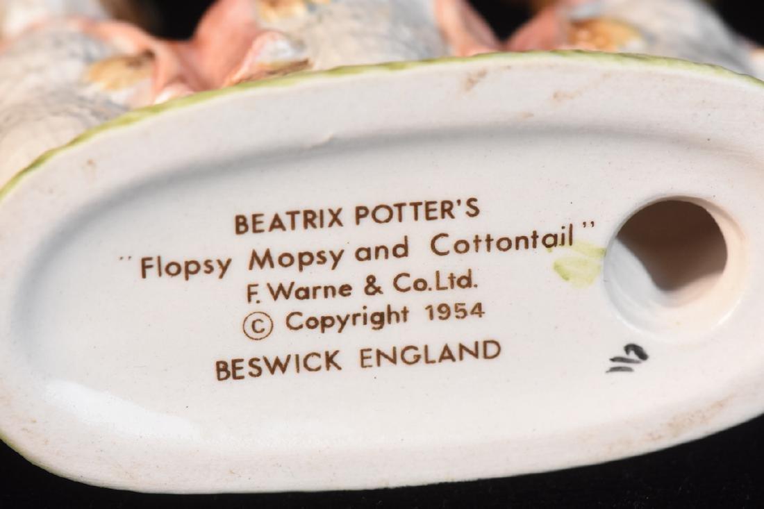 Beatrix Potter Figurines from Beswick England - 9