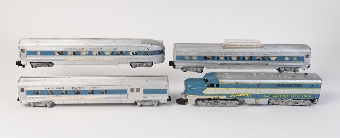 American Flyer Lines Comet Passenger Train - 2
