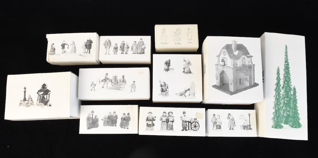 (12) Dept 56 Heritage Village Accessories - 2