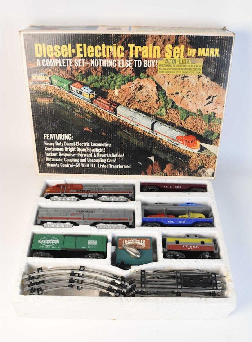 Complete Set Diesel-Electric Train by Marx