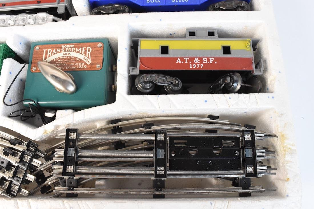 Complete Set Diesel-Electric Train by Marx - 2