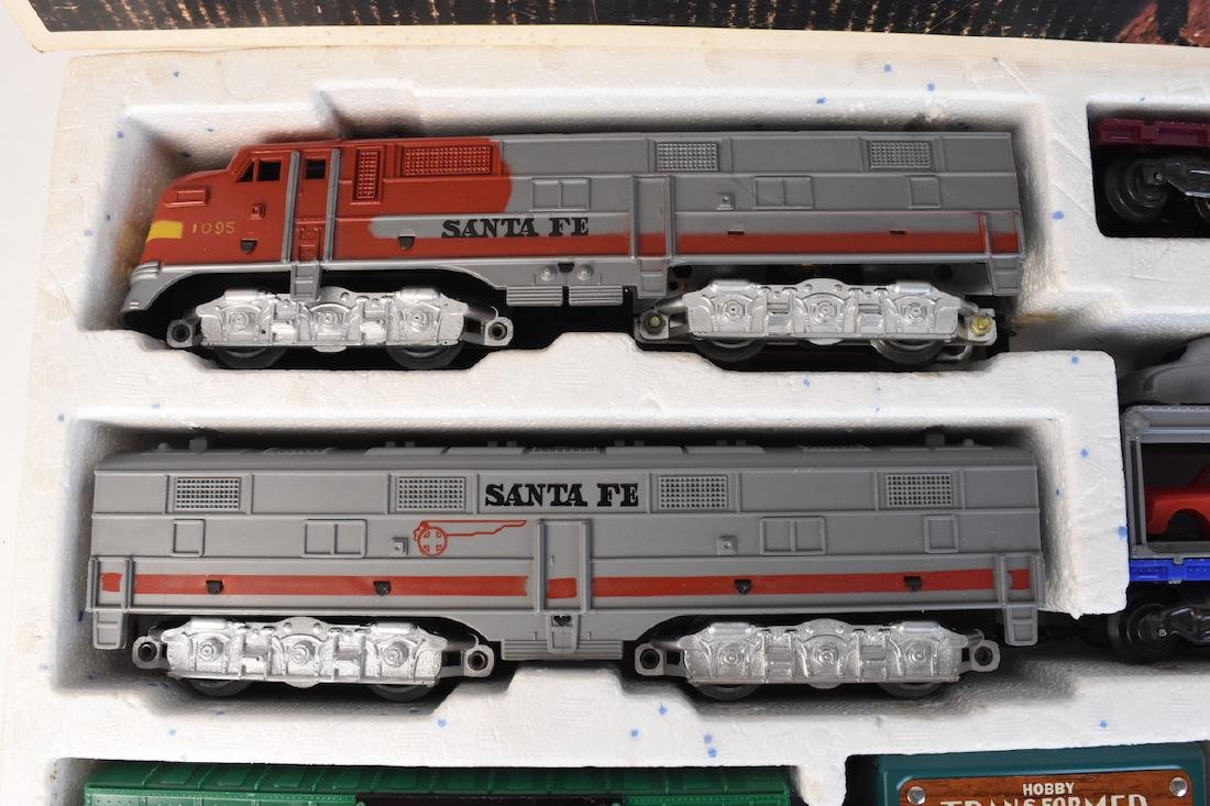 Complete Set Diesel-Electric Train by Marx - 5