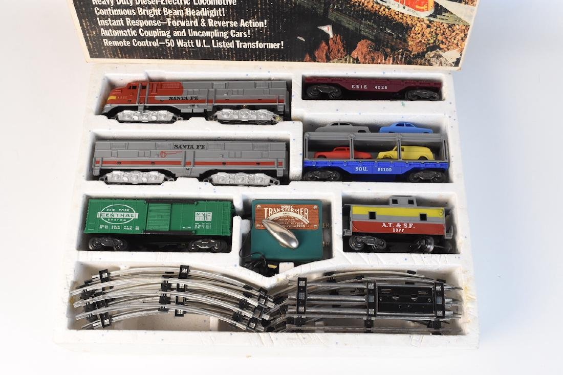 Complete Set Diesel-Electric Train by Marx - 6