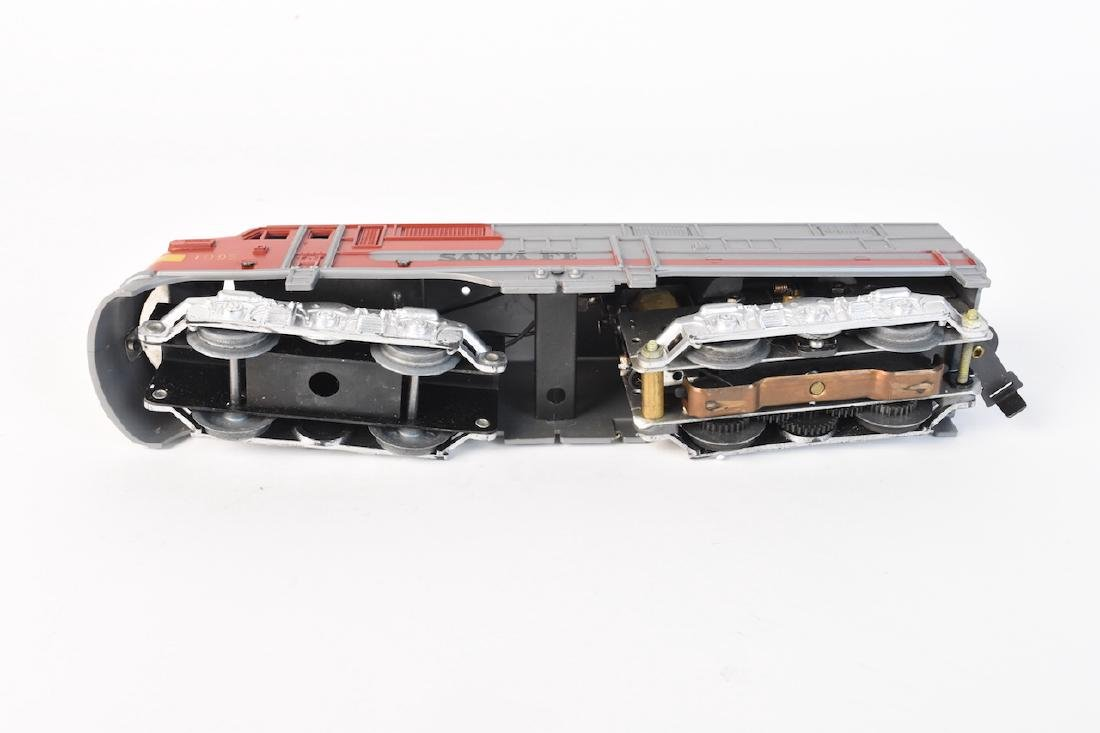 Complete Set Diesel-Electric Train by Marx - 8