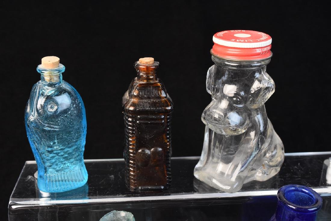 Collection of Various Glass Bottles - 5