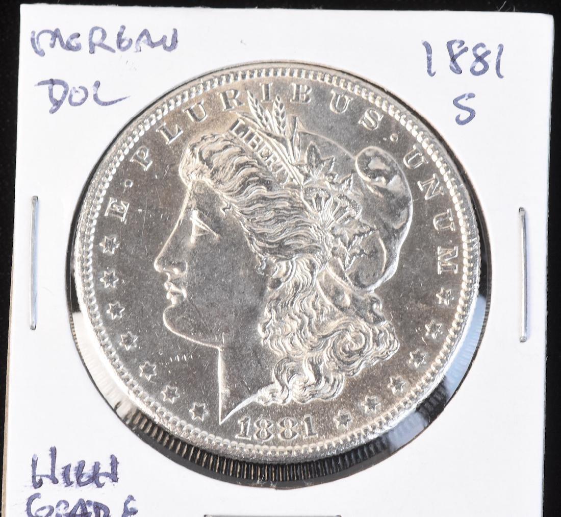 (6) Morgan Silver Dollars - 2