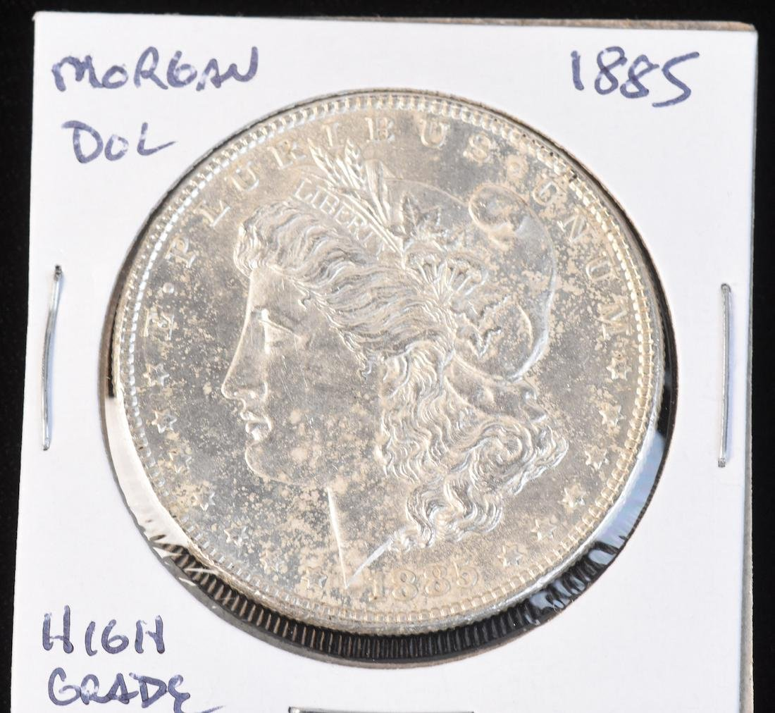 (6) Morgan Silver Dollars - 3