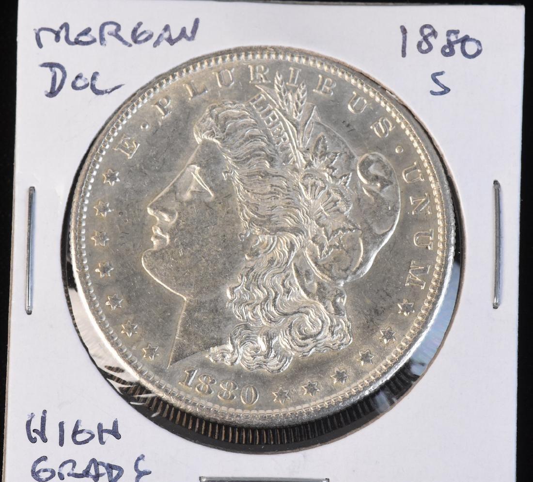 (6) Morgan Silver Dollars - 6