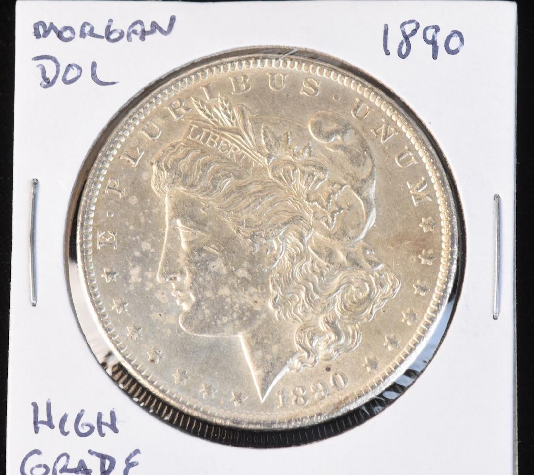 (6) Morgan Silver Dollars - 7