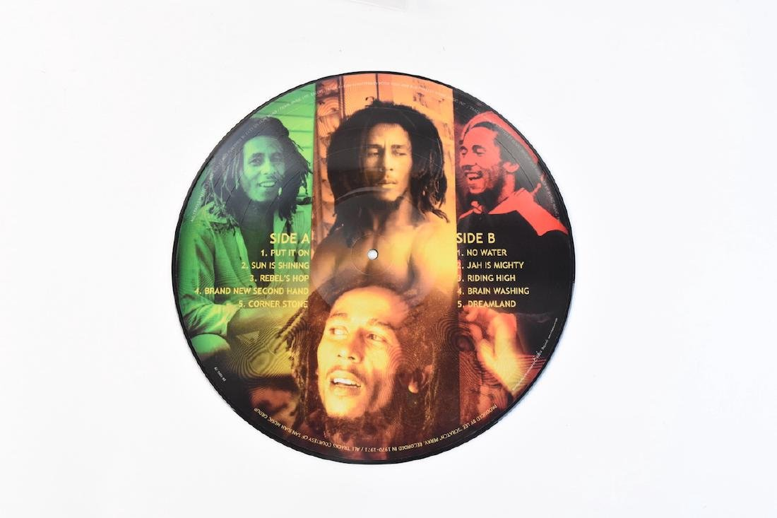Autographed Bob Marley Album w/ (2) Records - 2