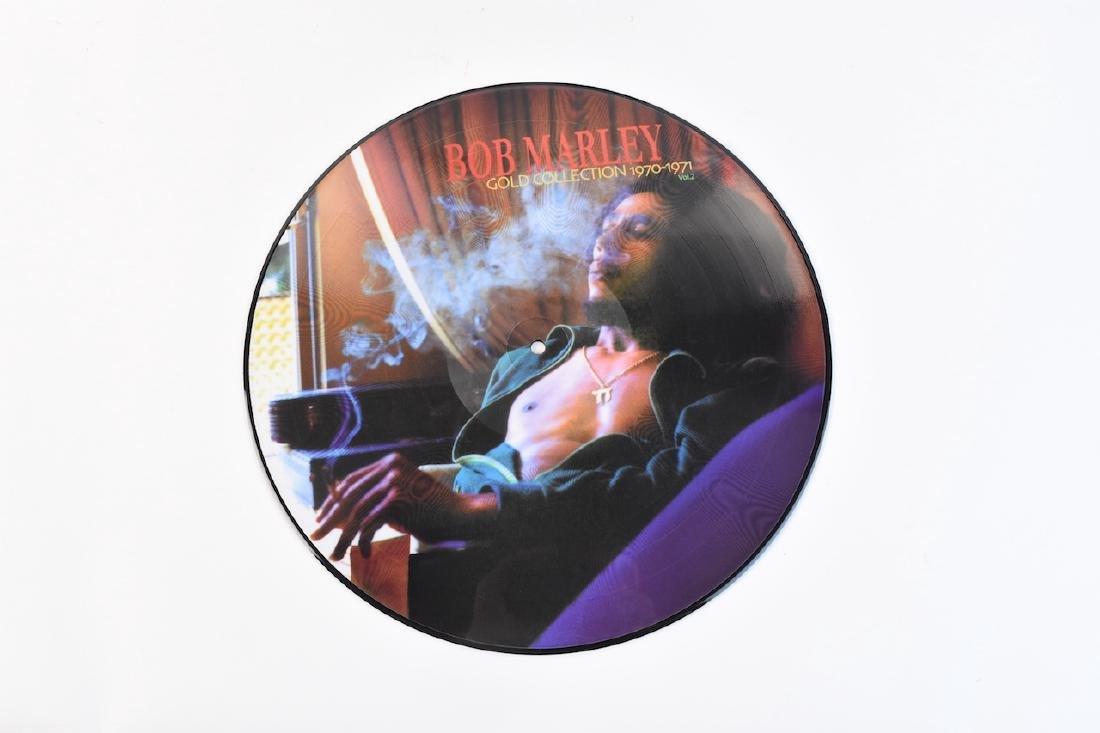Autographed Bob Marley Album w/ (2) Records - 3