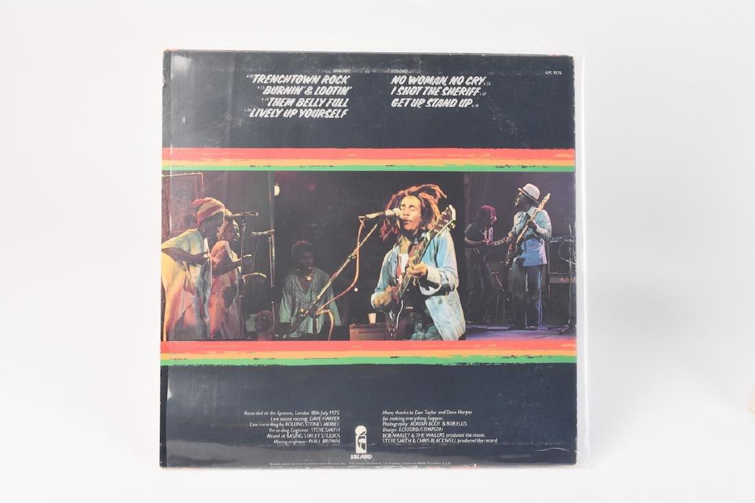 Autographed Bob Marley Album w/ (2) Records - 4